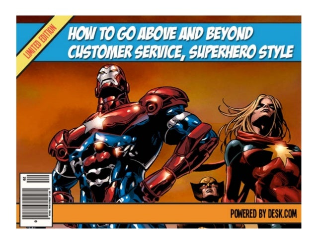 How to Go Above and Beyond Customer Service, Superhero Style