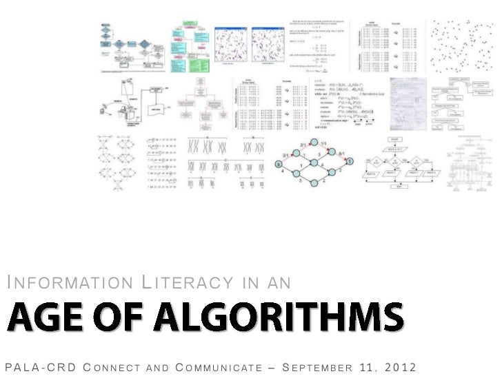 Information Literacy in an Age of Algorithms