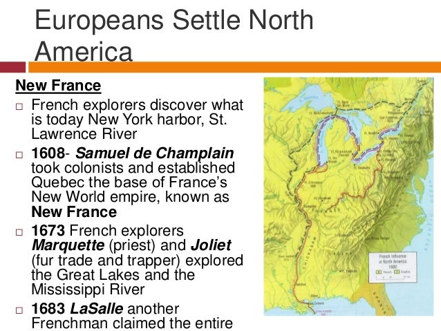european influence in north america essay Europeans view of the indigenous people of north america the entrance of europeans and the colonization of north americans had a significant influence in the way the communities of north america viewed themselves.