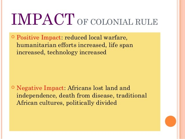 essay on colonization in africa