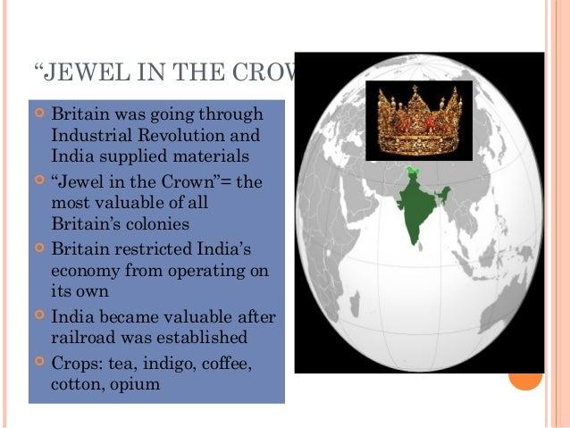 """India Crown Jewel """"jewel in The Crown"""""""
