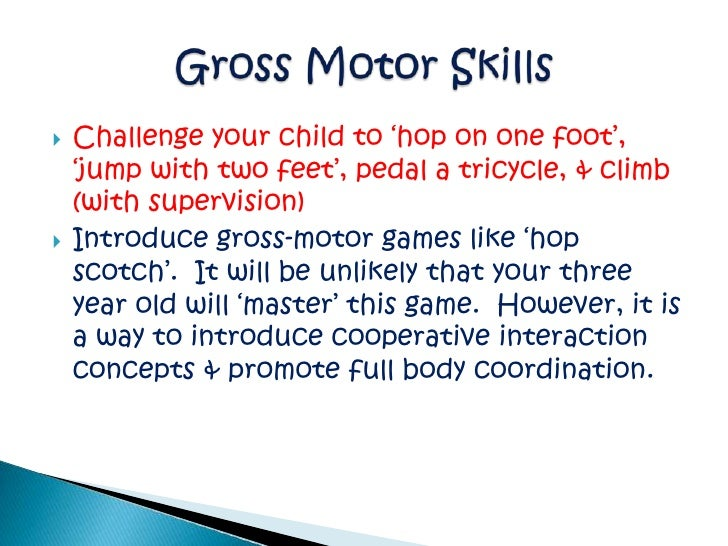 guidelines for 4 yo childhood milestones