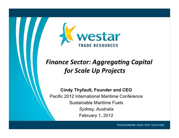 Aggregating capital