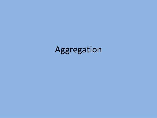 Aggregation in MongoDB
