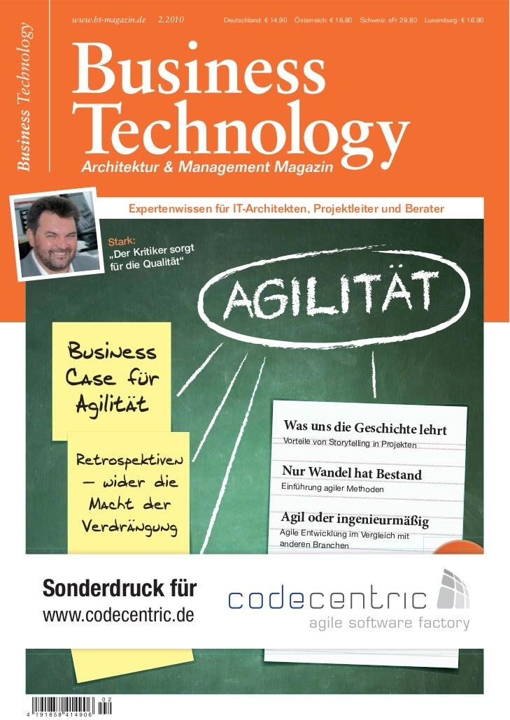 www.bt-magazin.de   2.2010     Deutschland: € 14,90   Österreich: € 16,80   Schweiz: sFr 29,80   Luxemburg: € 16,90       ...