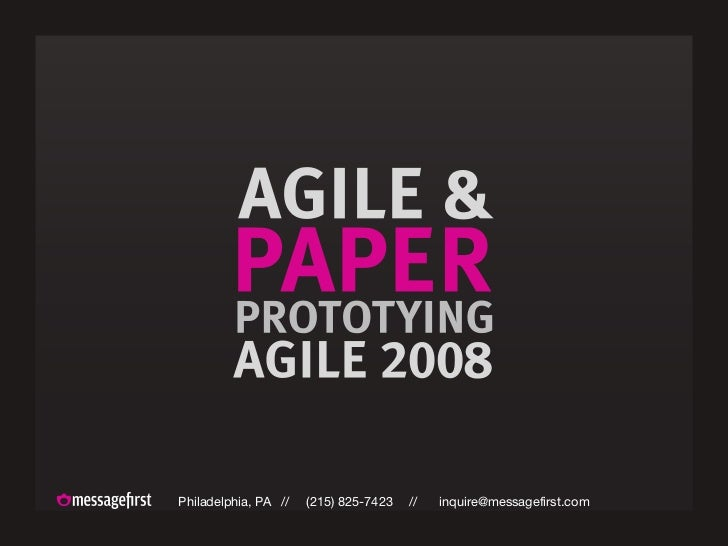 Agile And Paper Prototyping