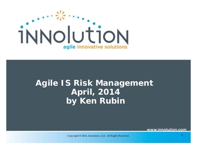 Agile IS Risk Management -- Dump the Heavyweight Process and Embrace the Principles