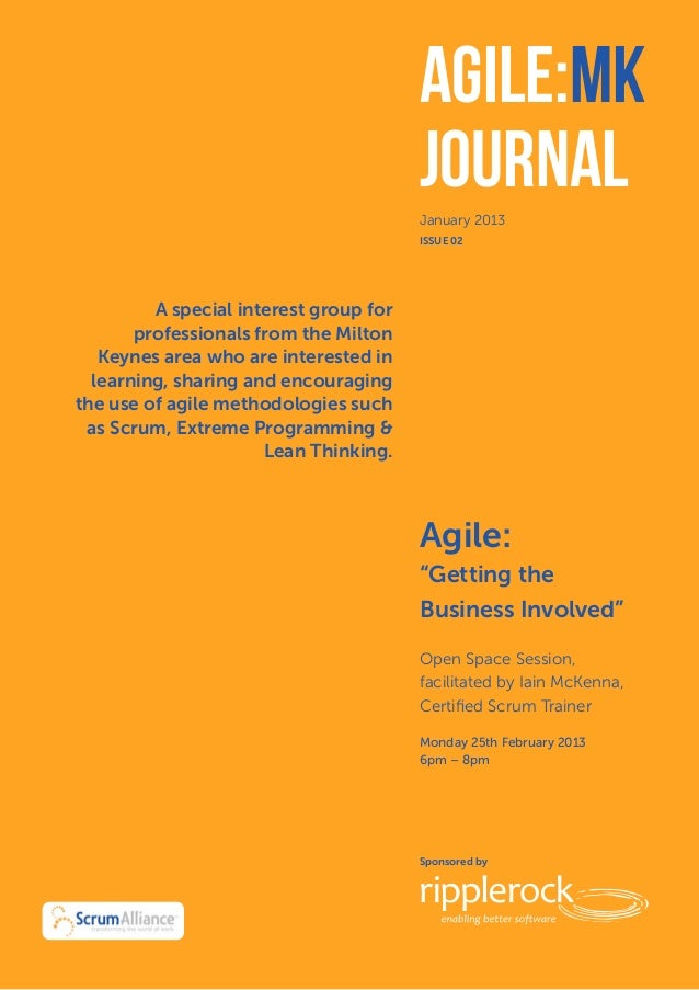 Agile:MK            December 2012                                        Journal                                        Ja...