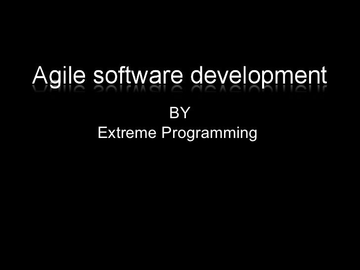 Agile Software Development with XP