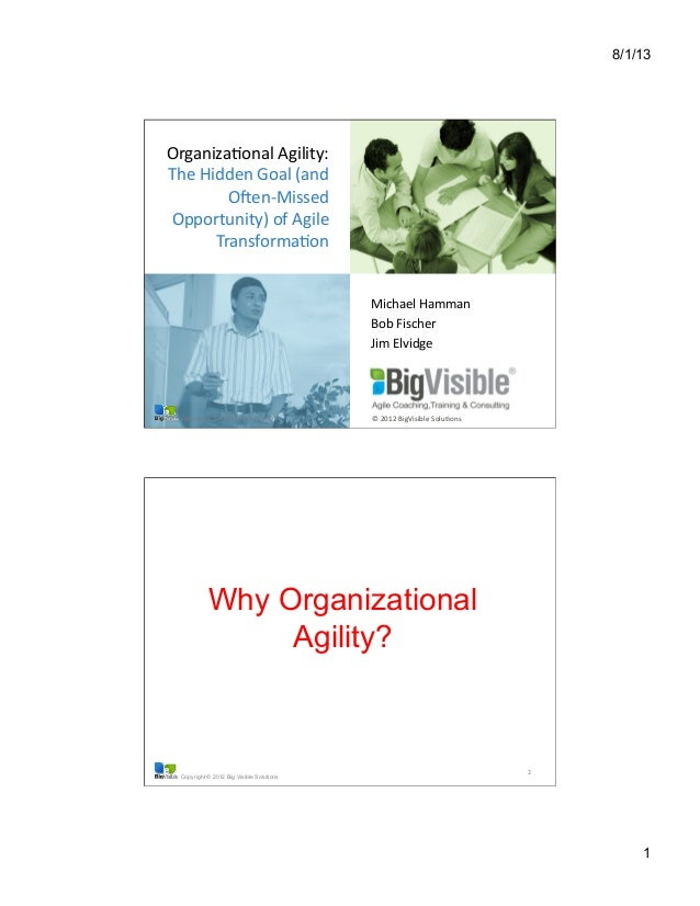 Organizational Agility: The Hidden Goal (And Often Missed Opportunity) of Agile Transformation