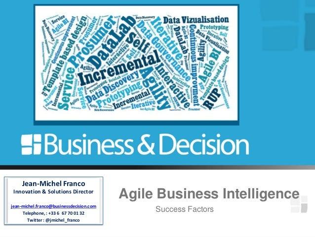 Agile BI success factors