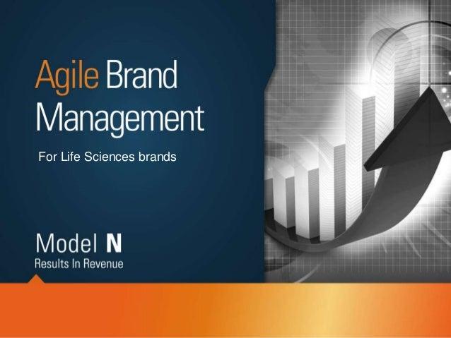 Pharmaceutical brand planning methodology