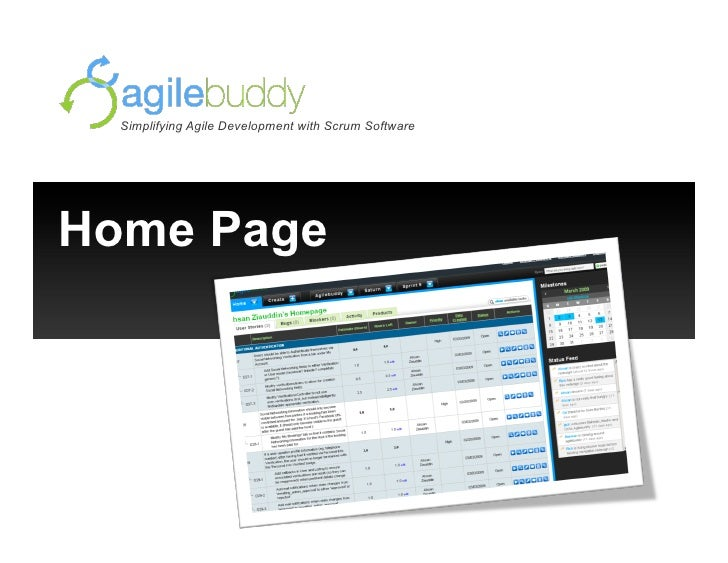 Simplifying Agile Development with Scrum Software     Home Page