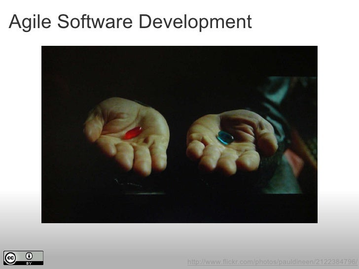 Agile Software Development <ul><li>  </li></ul>http://www.flickr.com/photos/pauldineen/2122384796/