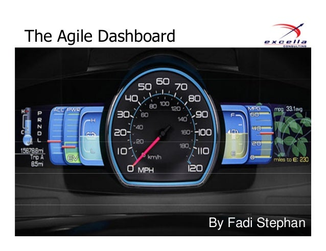 The Agile Dashboard By Fadi Stephan