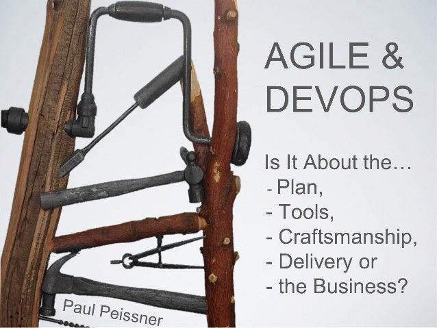 Agile&DevOps-whats it about