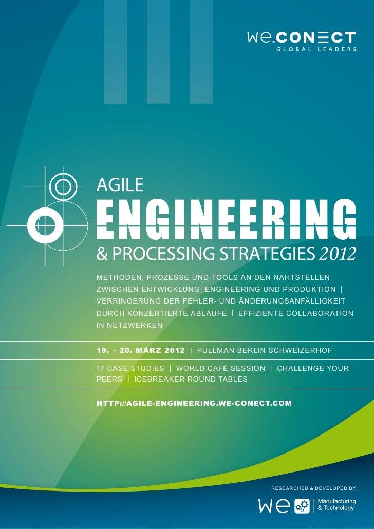 Methoden, Prozesse und Tools an den Nahtstellenzwischen Entwicklung, Engineering und Produktion |Verringerung der Fehler- ...