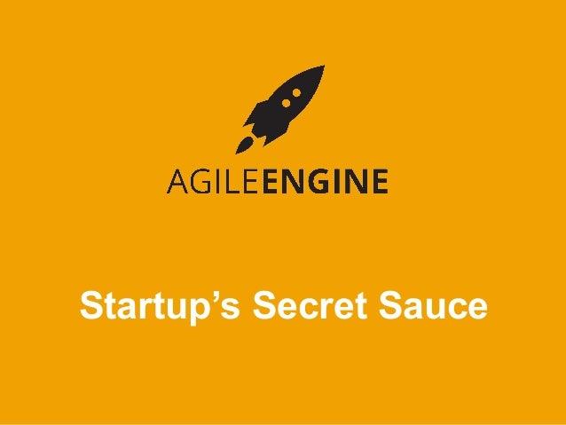 AgileEngine Startup Stories