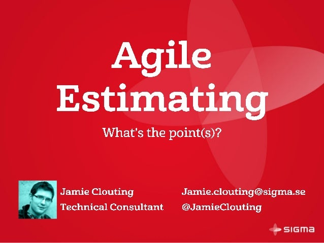 Agile estimating - what's the point(s)?