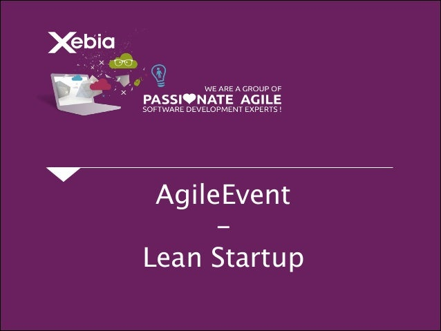 AgileEvent - Lean Startup
