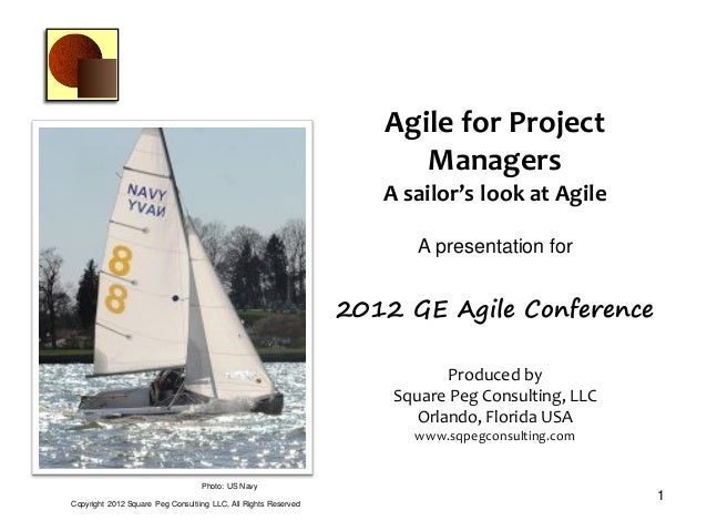 Agile for project managers  - a sailing analogy-UPDATE
