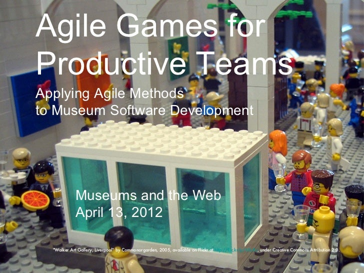 Agile Games for Productive Teams