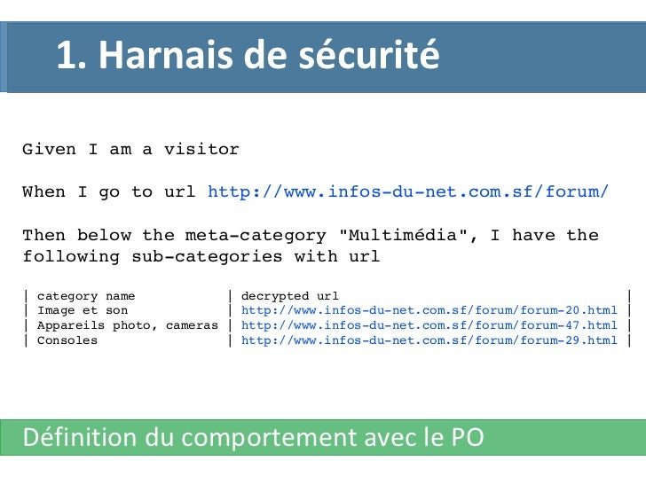 "Given I am a visitor When I go to url  http://www.infos-du-net.com.sf/forum/ Then below the meta-category ""Multimédia..."