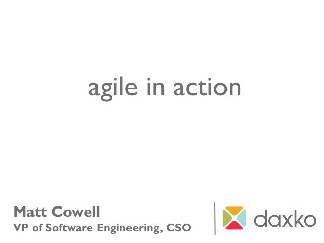 Agile in Action - Agile Overview for Developers