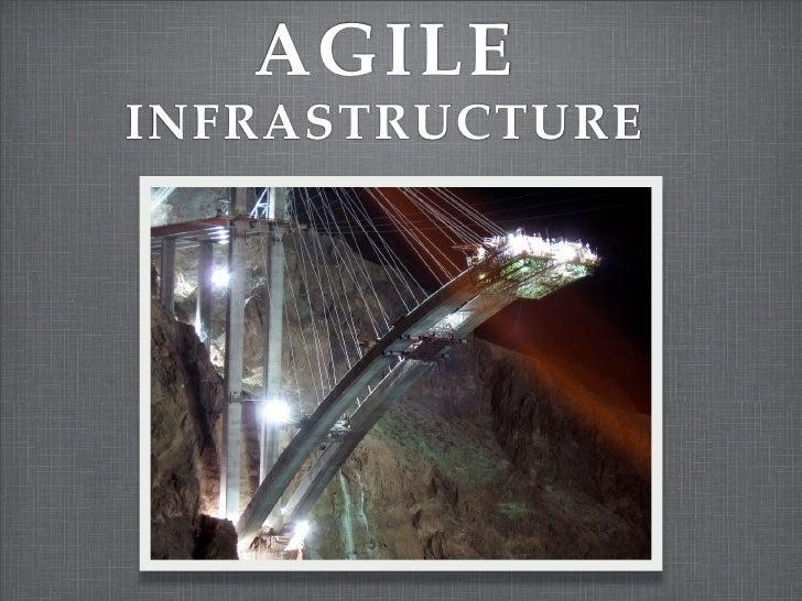 Agile Infra @AgileRoots 2009