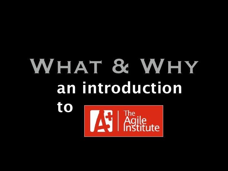 Introduction Agile