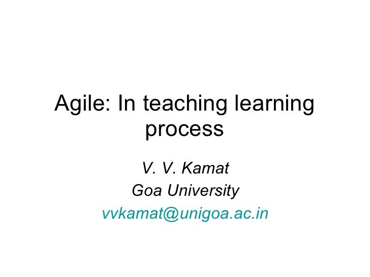 Agile In Teaching Learning Process
