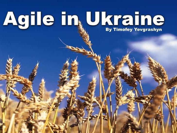 Agile in Ukraine