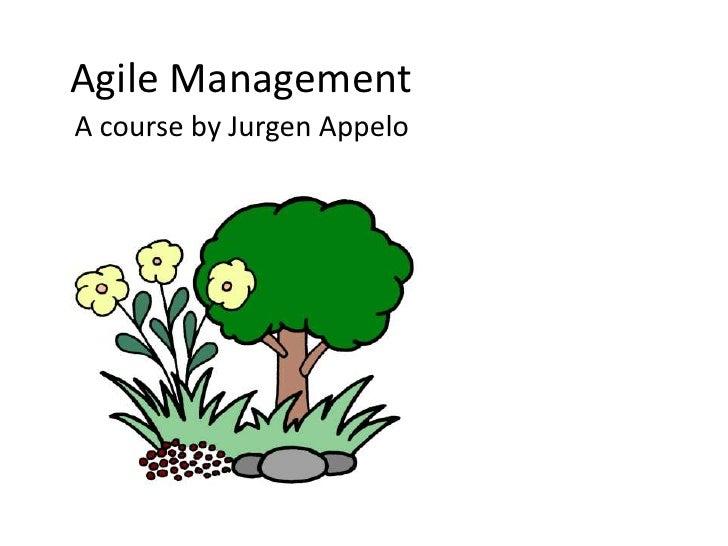 Agile Management Course