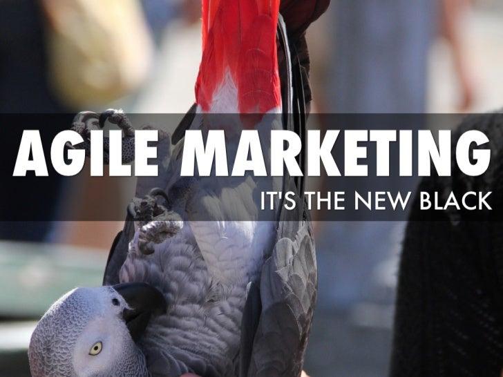Agile marketing - An Introduction