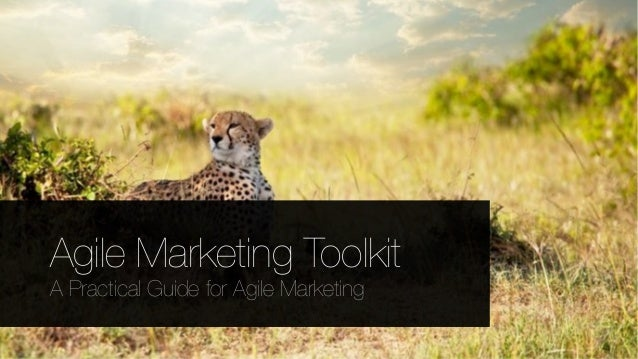 Copyright © 2013 GreenFrog. All rights reserved. Agile Marketing Toolkit A Practical Guide for Agile Marketing