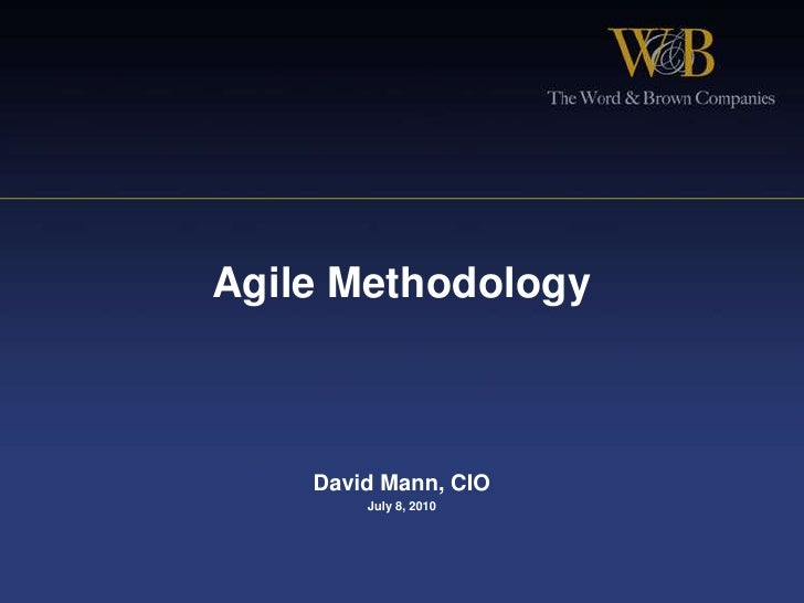 Agile methodology   v 4.5 s