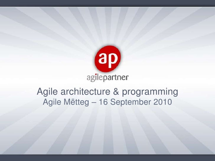 Agile Mëtteg series session 7