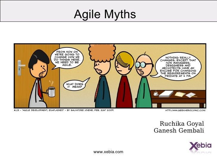 Agile Myths agilencr2010