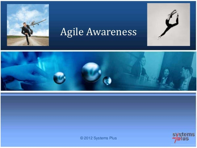 © 2012 Systems Plus Agile Awareness