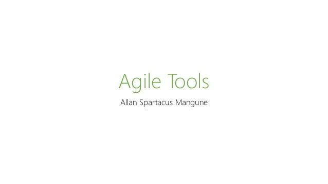 Agile Tools Allan Spartacus Mangune