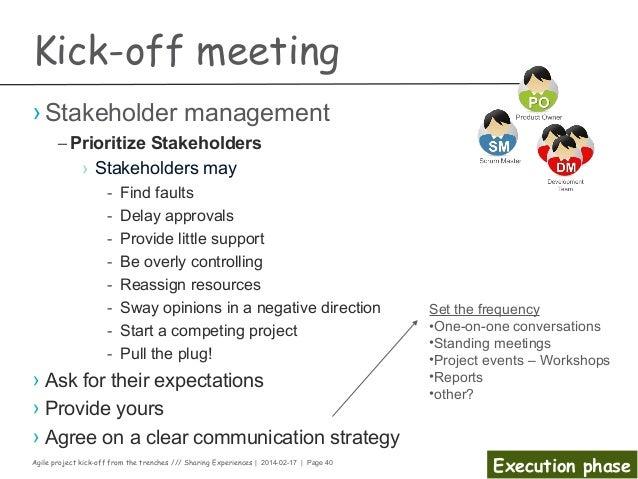 Kick Meeting Presentation Template Kick Off Meeting Presentation