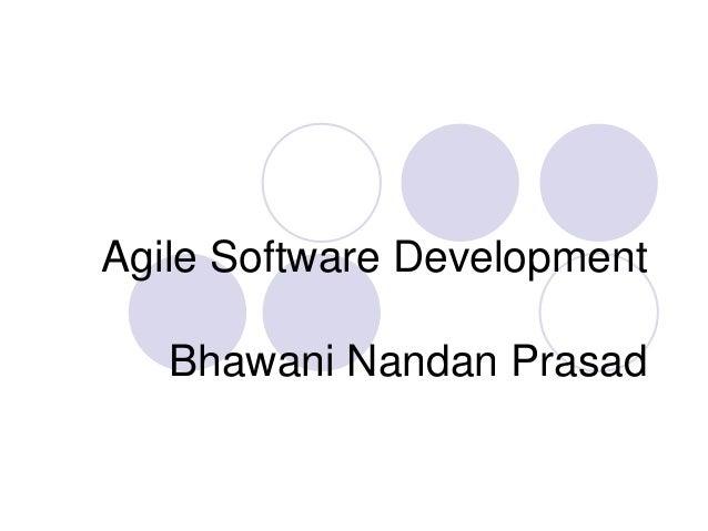 Agile Software Development Bhawani Nandan Prasad
