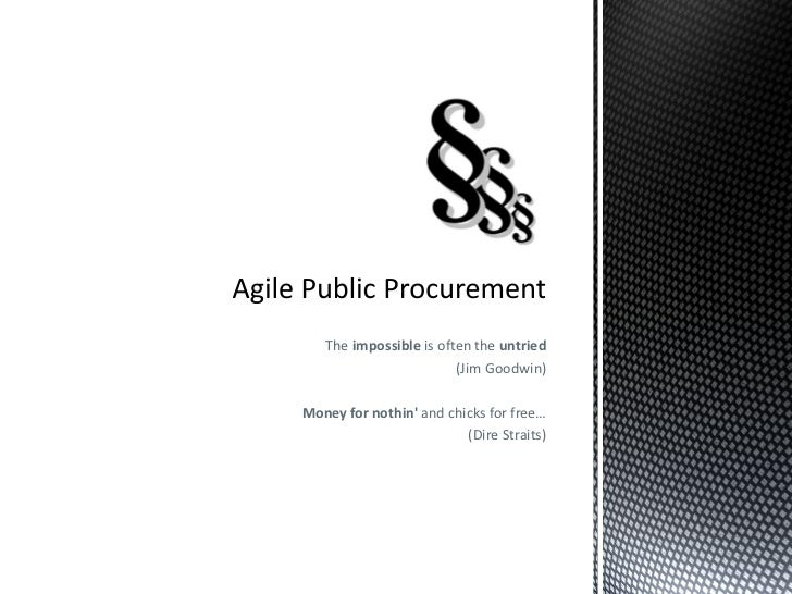 Agile Public Procurement in Lithuania
