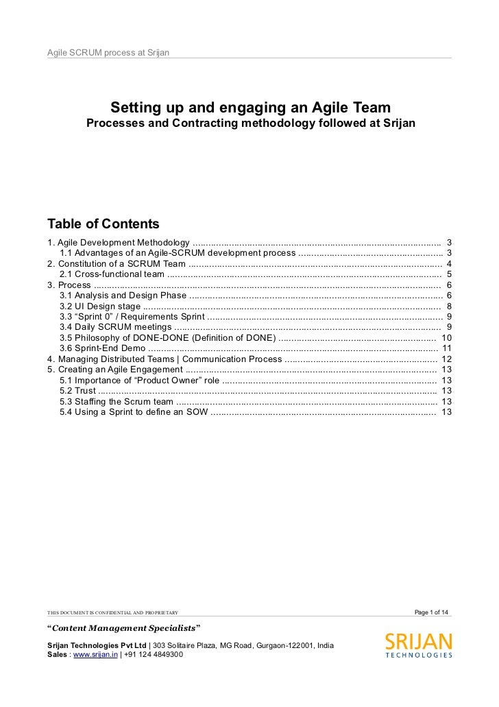 The Evolving Agile Development Process at Srijan