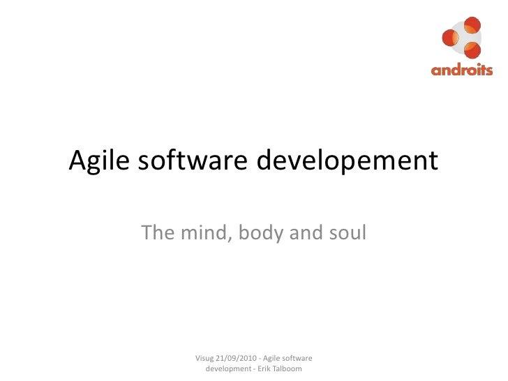 Agile software developement