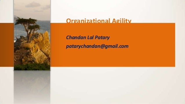 Achieving agility : How? , lesson learned captured