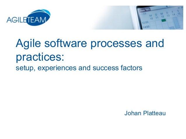 Agile successful practices