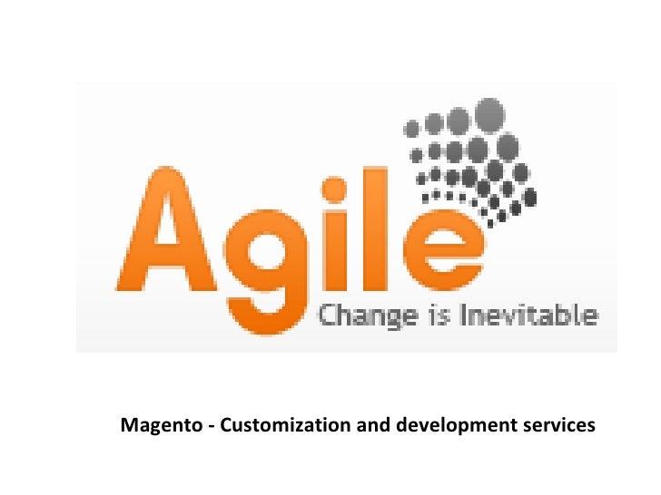 Agile Technosys   Magento Web Development