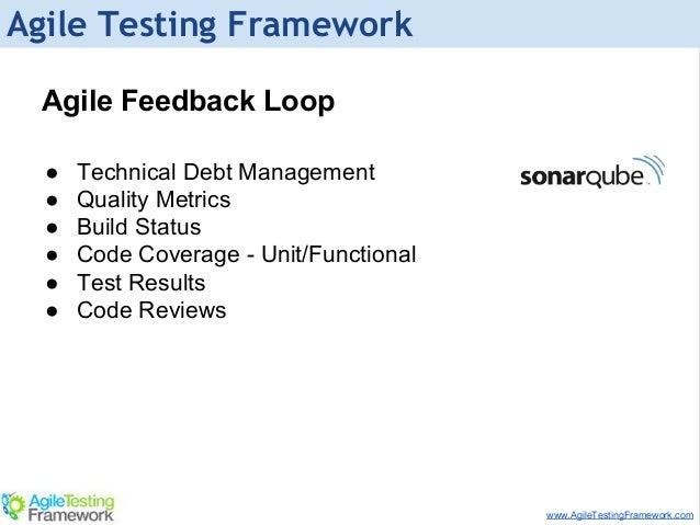 Testing Feedback Loop Feedback Loop ● Technical