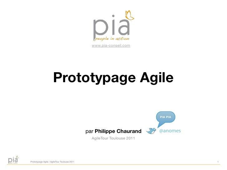 www.pia-conseil.com                      Prototypage Agile                                                                ...